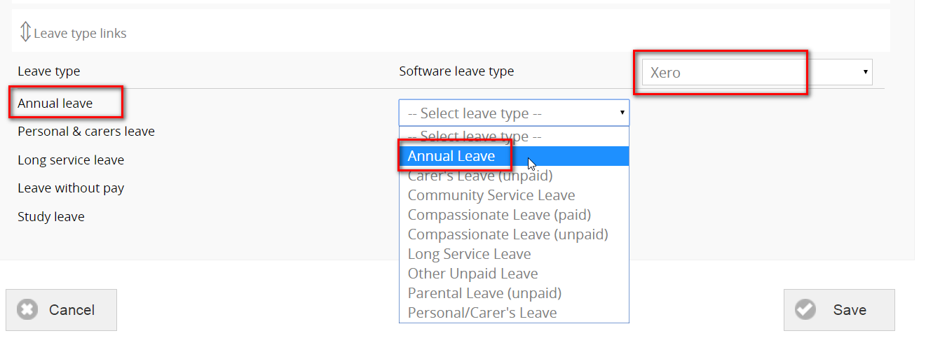Leave-type
